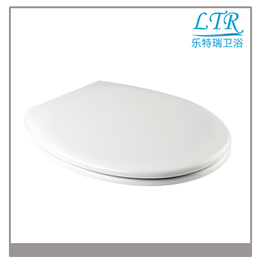 European Shape Smart White Wc Toilet Seat