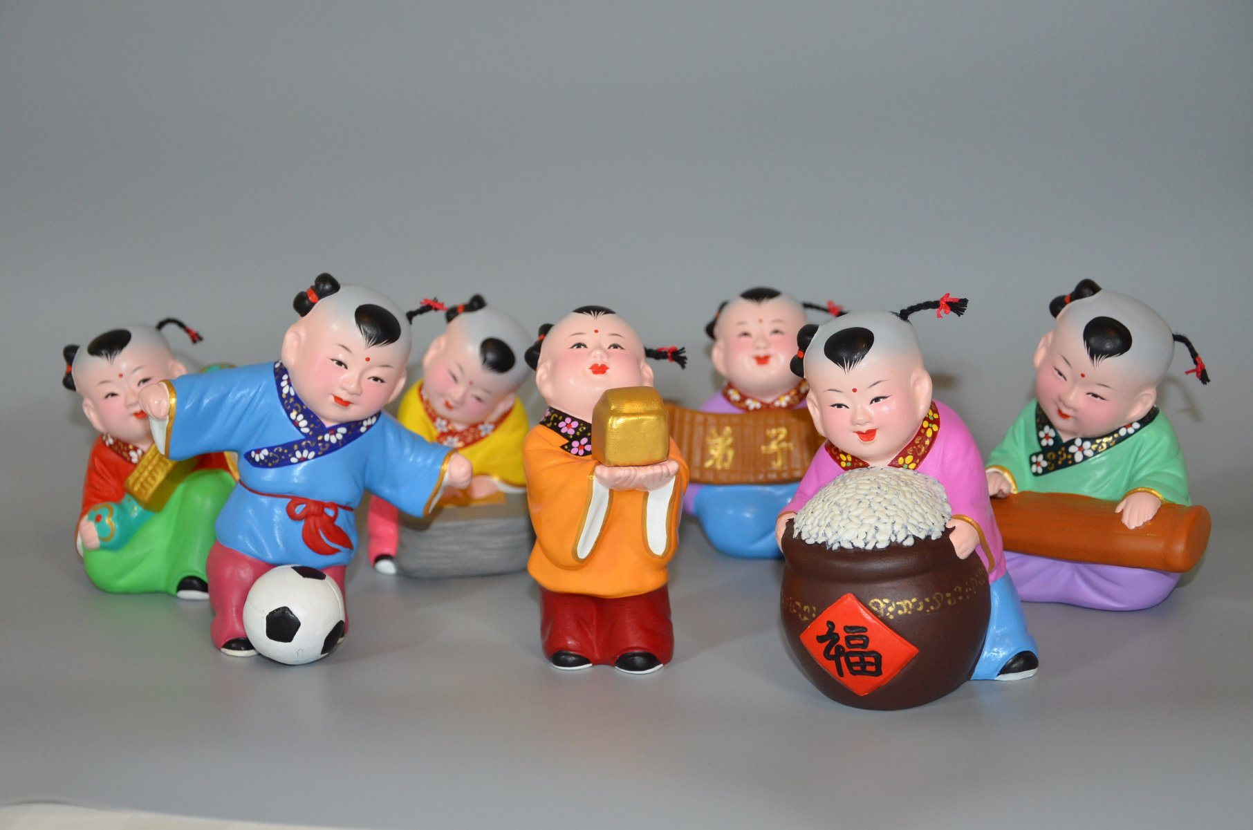 Colorful Clay of Handicraft