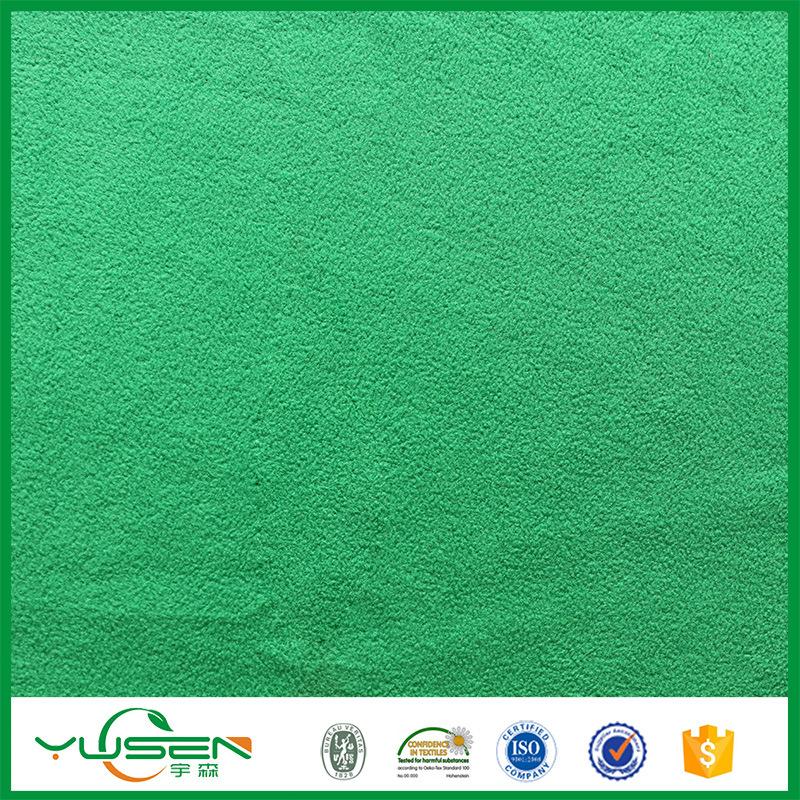 100% Poly Various Micro Polar Fleece Fabric for Carpet