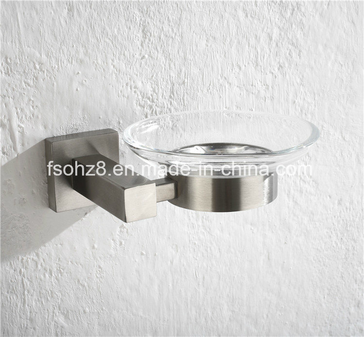 Durable Bathroom Accessories Stainless Steel Single Soap Dish Holder (Ymt-2602)