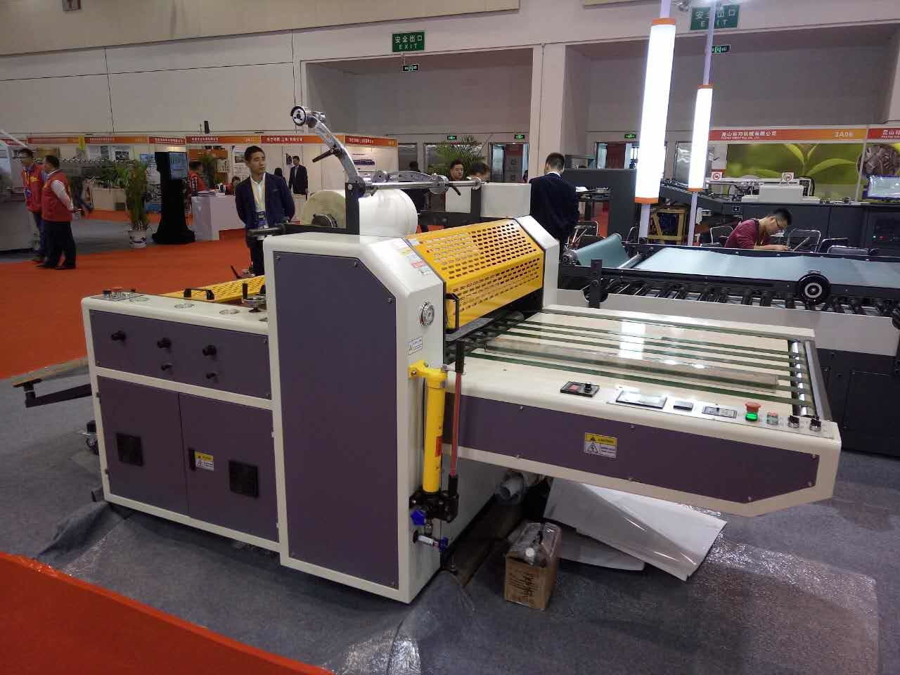 Semi Auto Thermal Film Paper Laminator with Flying Knife