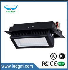 2017 Commercial Electric LED Recessed 50W 60W LED Shop Light Fixtures LED Rectangular Down Light Adjustable