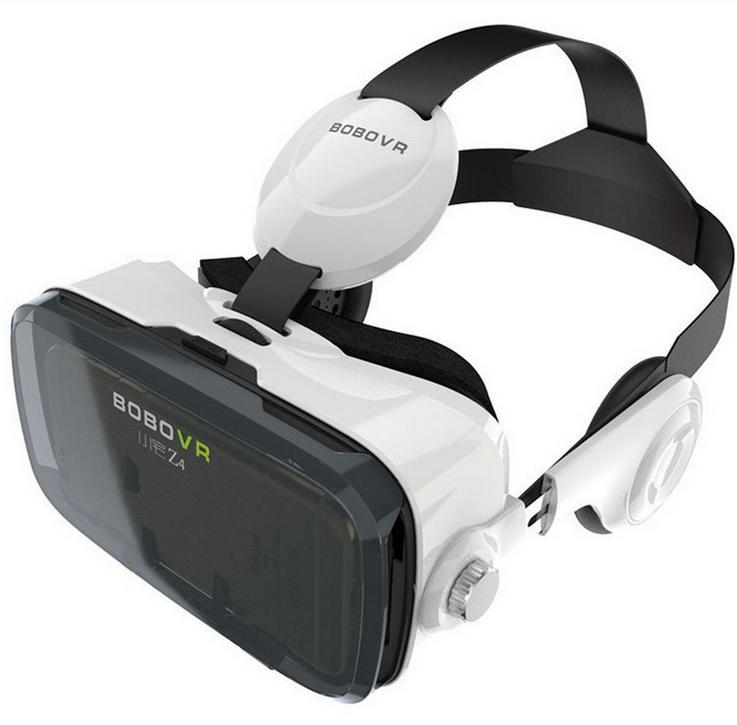 3D Galsses Bobo Vr Z4 Virtual Reality Vr 3D Video Glasses with Headphone Bobo Z4 Vr Box