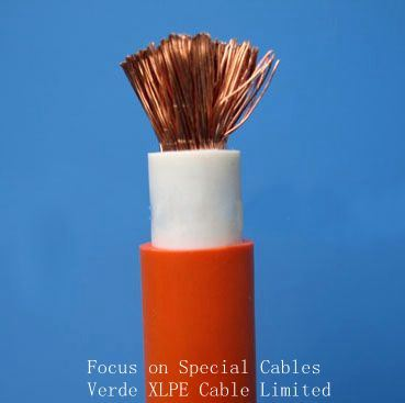 Stranded Copper Conductor Rubber Insuated Welding Cable