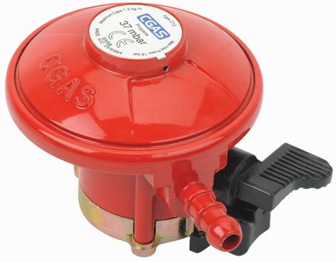 LPG Low Pressure Gas Regulator with Hose (C10G59U37)