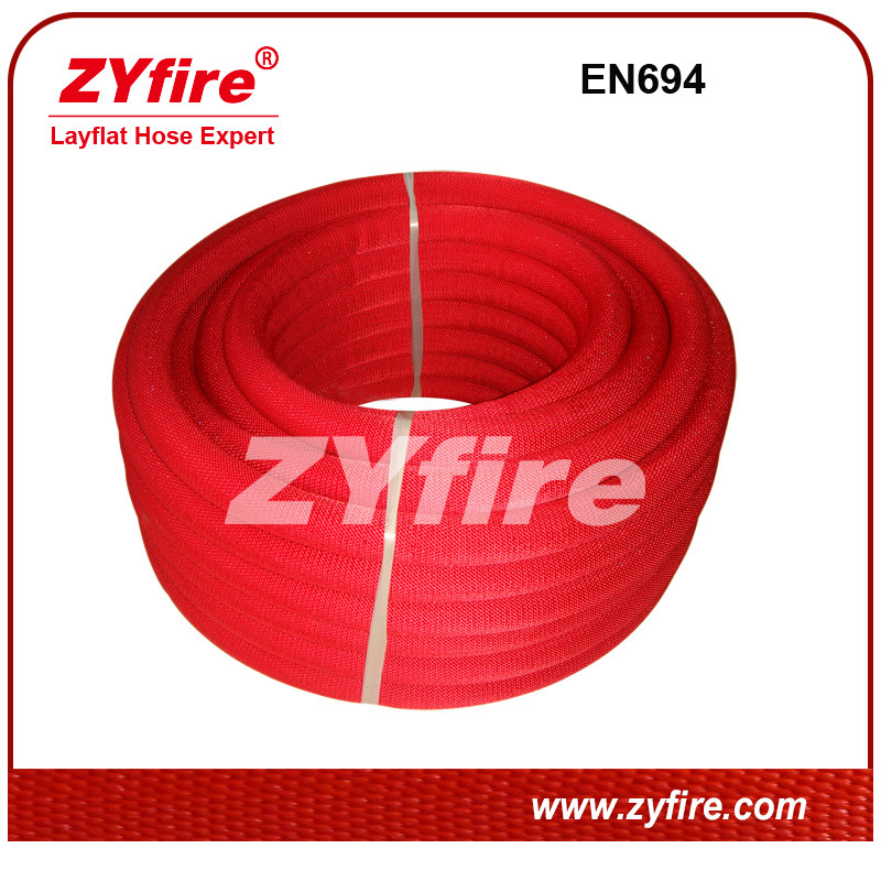 Red or Yellow Semi-Rigid Hose