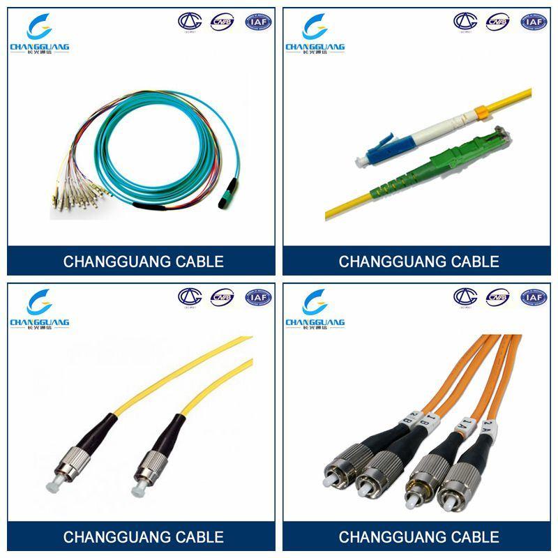Distribution Cable 24 Core Fiber Optic Cable, Sc Optical Fiber Patchcord