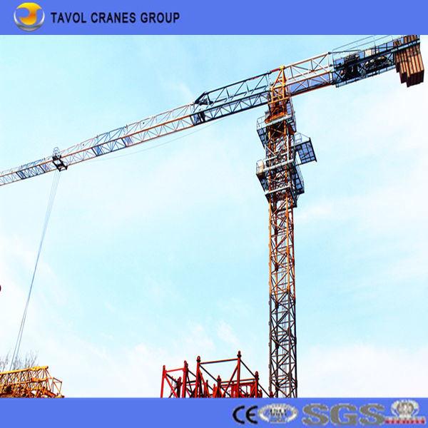 Qtz63-5010 Self Climbing Topless Tower Crane