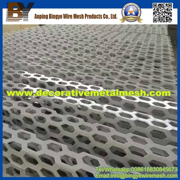 Hexagonal Perforated Metal From Anping City
