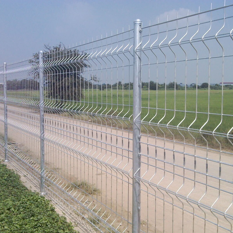 Galvanzied and PVC Coated Military Security Electric Welded Fence Panel Wire