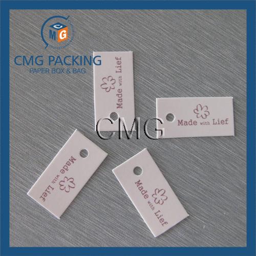 Heart Printing Clothing Hang Tag