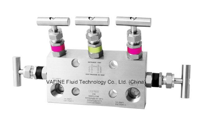 Direct Mount Instrument Remote Mount Instrument 5- Valve Manifolds