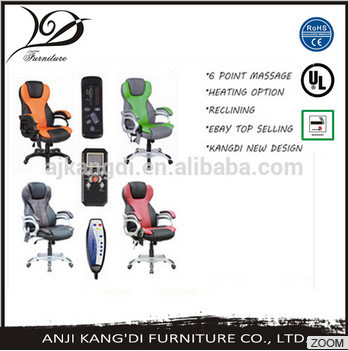 Kd-Mc8026 6 Point Vibration Massage Office Chair/Wireless Massage Chair/Heating Massage Office Chair