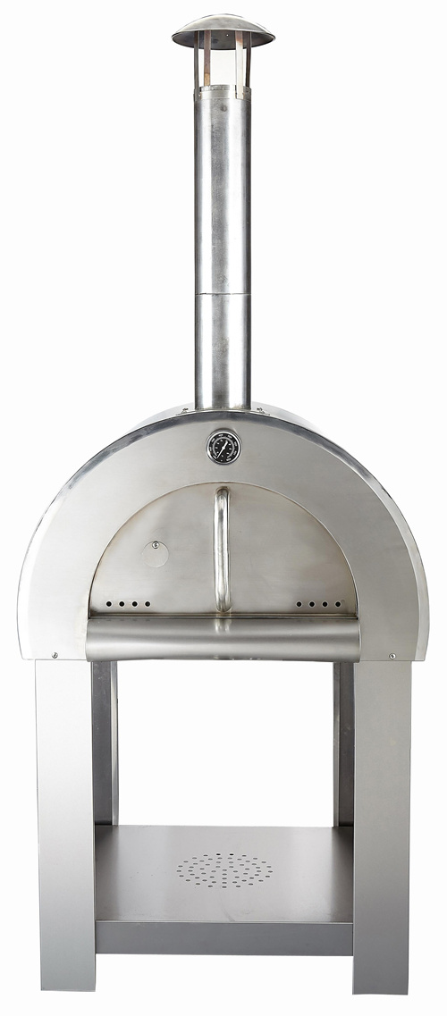 Stainless Steel Wood Fired Stone Pizza Ovens Kits for Sale