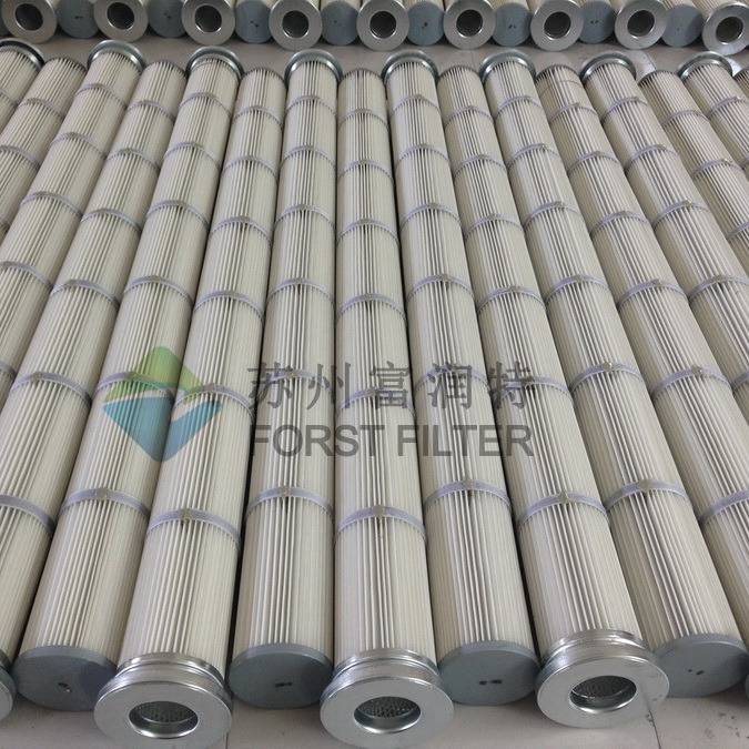 Forst Powder Convey Pleated Bag Cartridge Filter