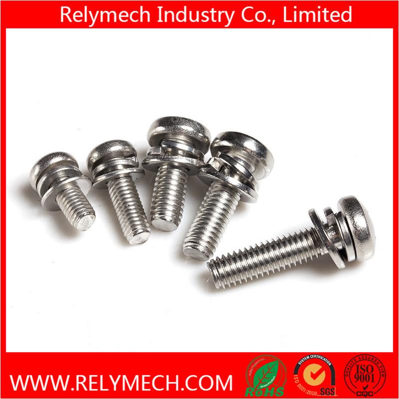 Phillips Pan Head Combination Screw/ Sem Screw/ Screw Nut Washer in Stainless Steel 304
