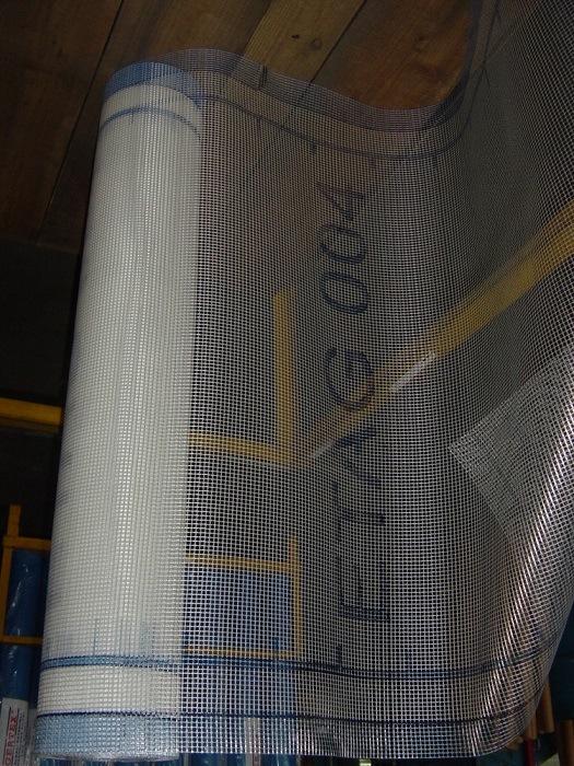Alkaline Resistant Fiberglass Mesh with Printing Logo, Fiberglas Plaster Netting