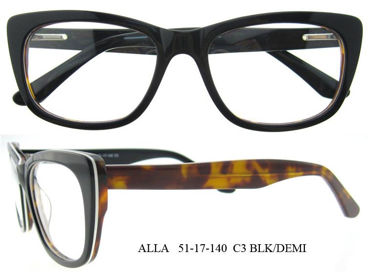 Latest Most Popular Eyewear Wholesale Acetate Optical Frames for Women