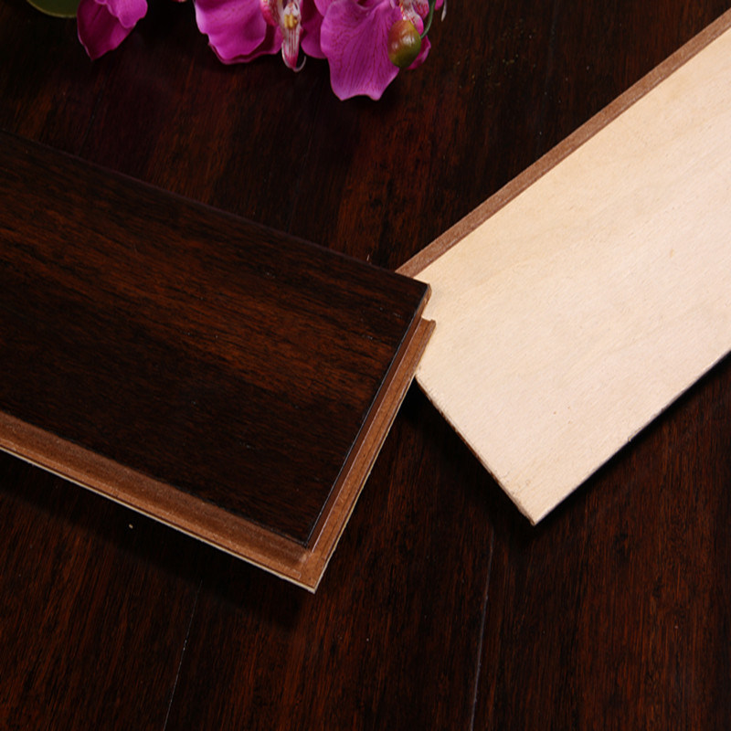 Handscraped Harvest Strand Woven HDF Bamboo Flooring