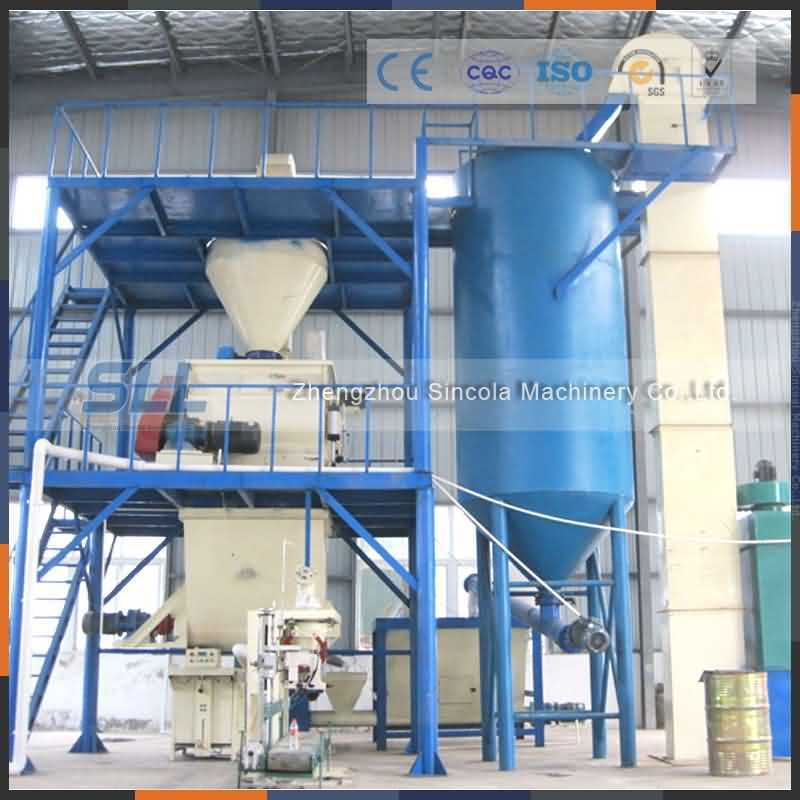 10tph Semi-Automativ Dry Mortar Plant/Dry Mixed Mortar Production Line