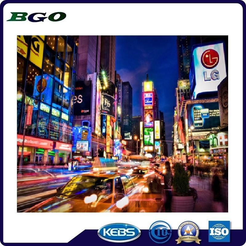 PVC Laminated Digital Printing Backlit Banner (500dx500d 18X12 510g)