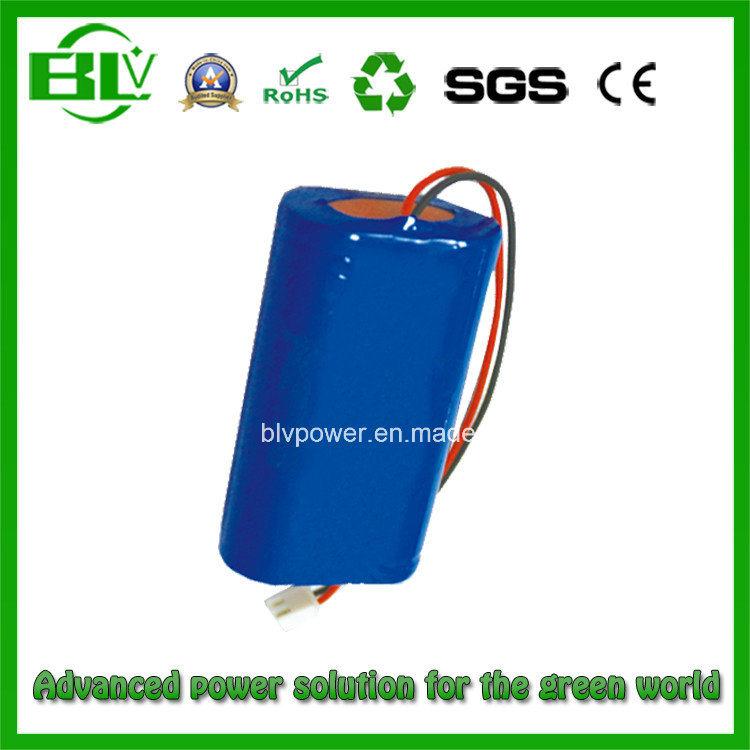 Li-ion Battery Pack 7.4V 3.4ah/30W for Potho Printer Video camera