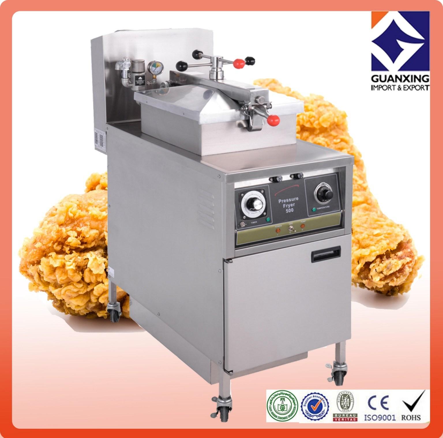 Pfe-500 Chicken Frying Machine/Gas Chicken Pressure Fryers/Commercial Chicken Fryer/Chicken Broast Machine