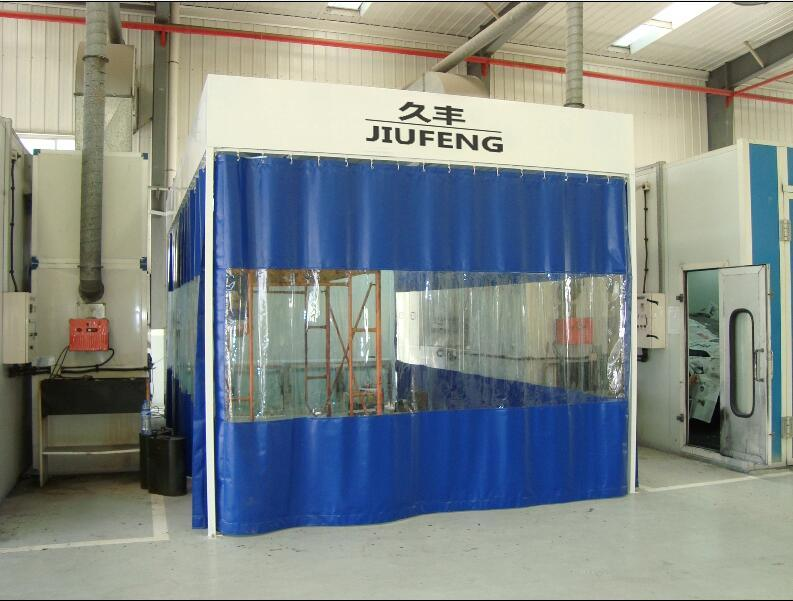 Jf Auto Repair Preparation Room Prep Booth Garage Equipment