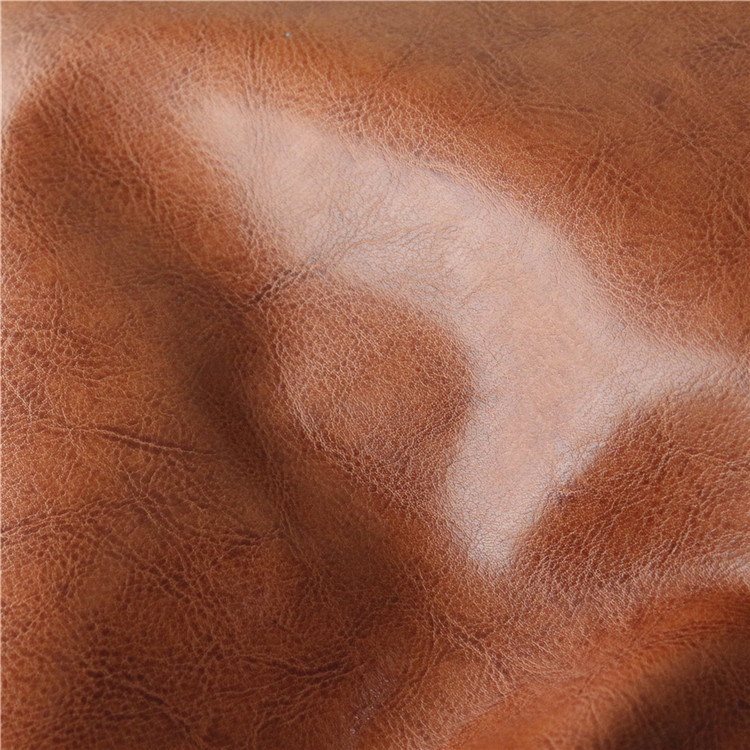 Abrasion Resistant Raw Materials Leather for Sofa Upholstery (138#)