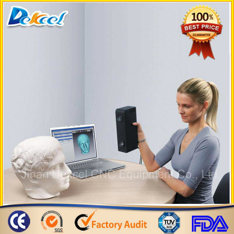 3D Portable Handheld CCD Scanner for CNC Router Body Scanning