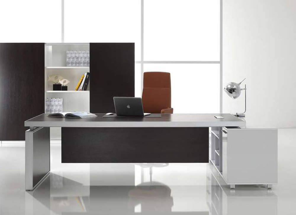 Modern executive desk gallery for Modern desks for home office