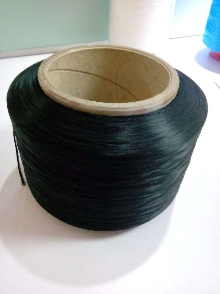 Recyle Black PP Yarn for Webbing Tapes