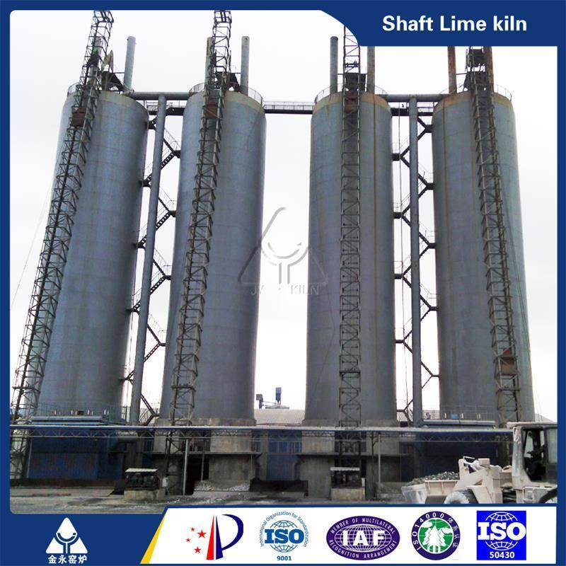 300 Ton Lime Kiln Vertical Lime Kiln Lime Production Line