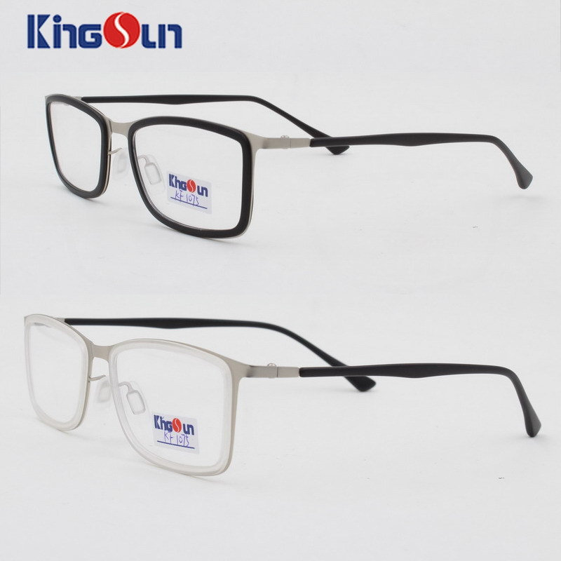 Tr90 Mix Metal Frame with Tr90 Templs Optical
