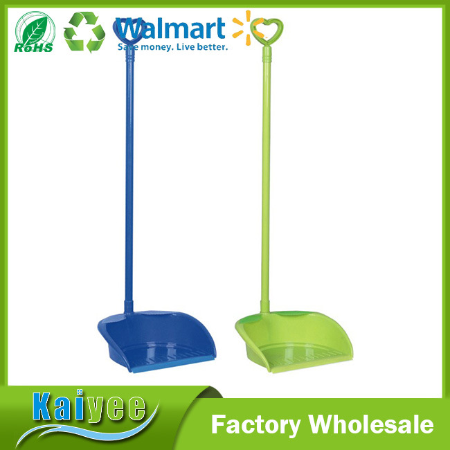 Fashion Household Thickening Plastic Dustpan with Long Handle