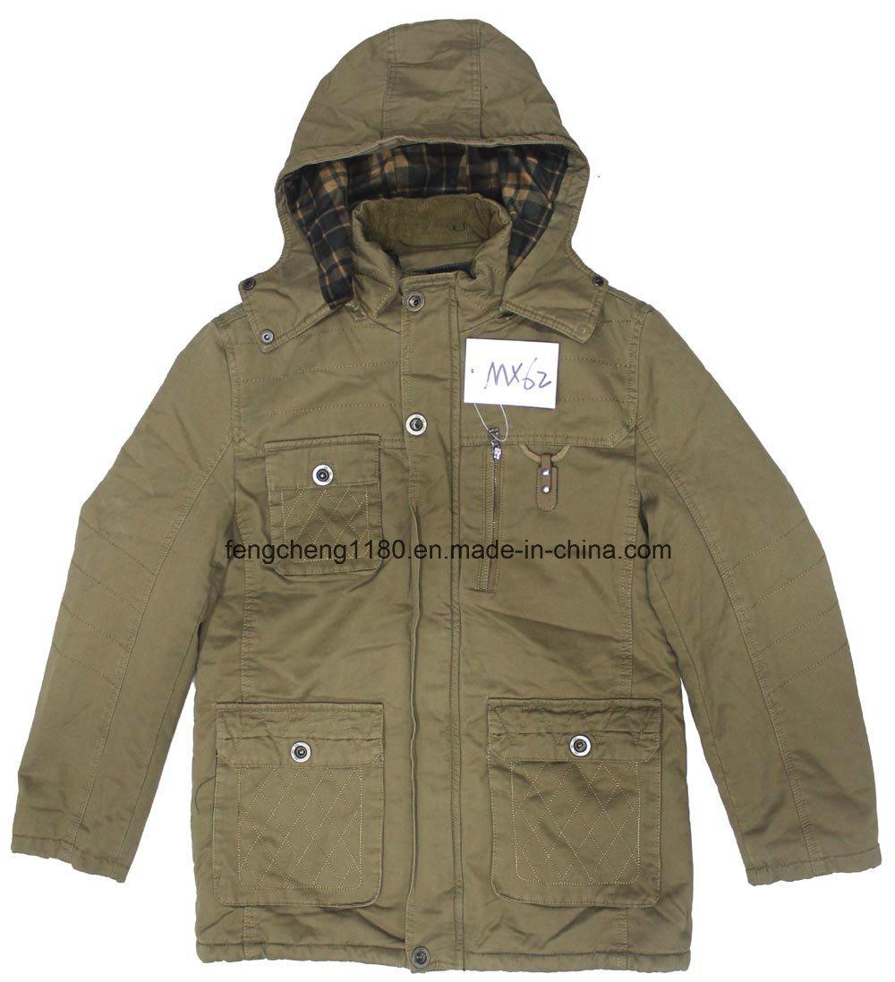 Fashion Men Washion Cotton Coat / Jacket for Winter and Autumn