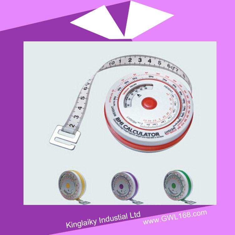 Promotional Body Measure Tape Mini Tape Measure (BH-012)
