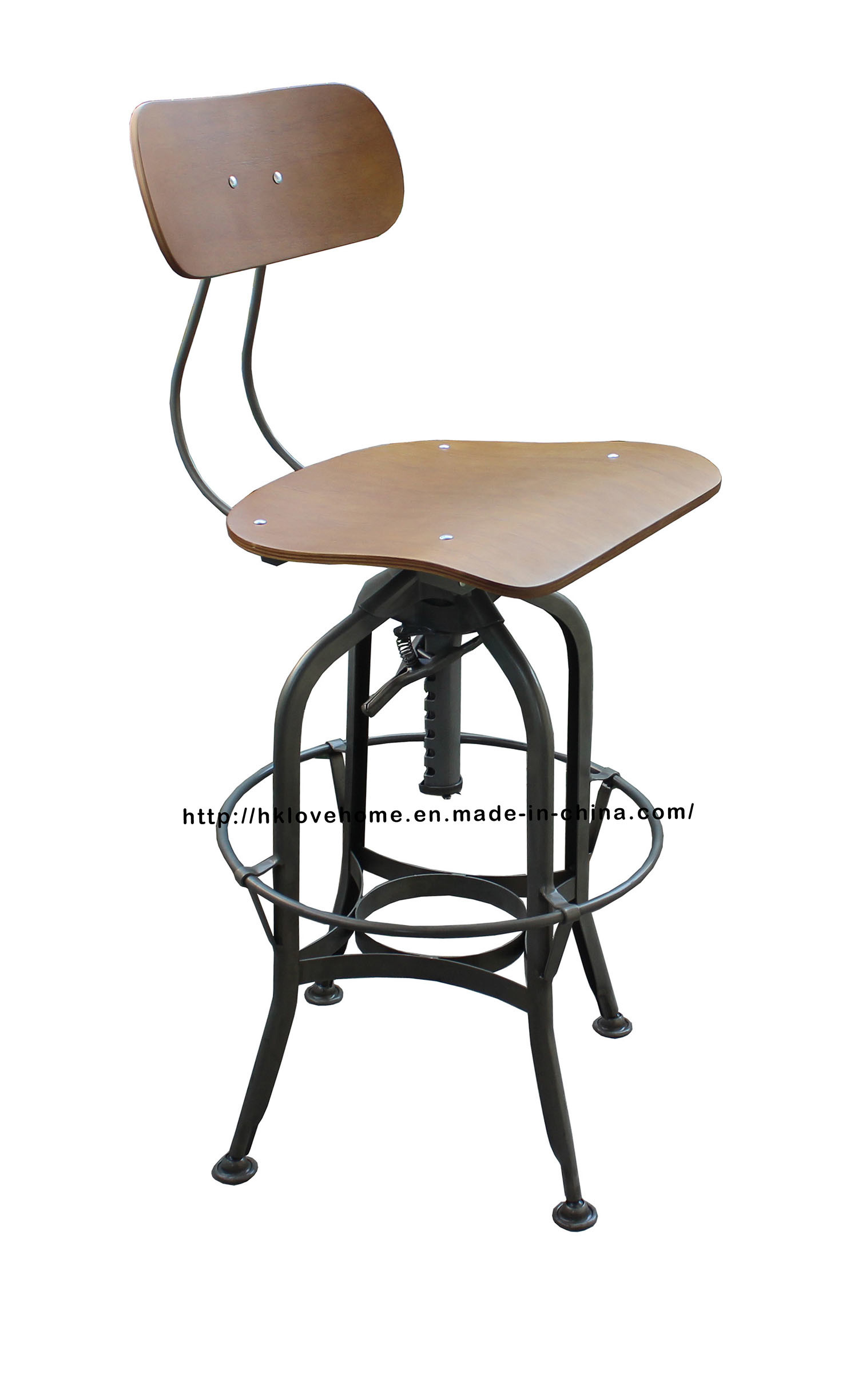 Replica Industrial Metal Restaurant Dining Furniture Toledo Bar Stools Chair