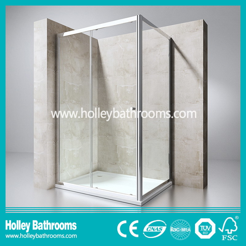 Sliding Door Stainless Steel Hardware Aluminum Waterproof Bar Shower House (SE614C)