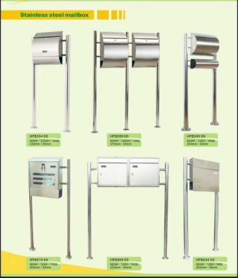 Trustworthy China Supplier Modern Stainless Steel Mailboxes