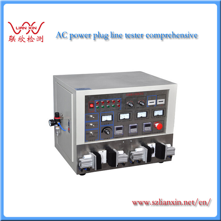 Single Double Power Supply Cord Plug Line Integrated Tester