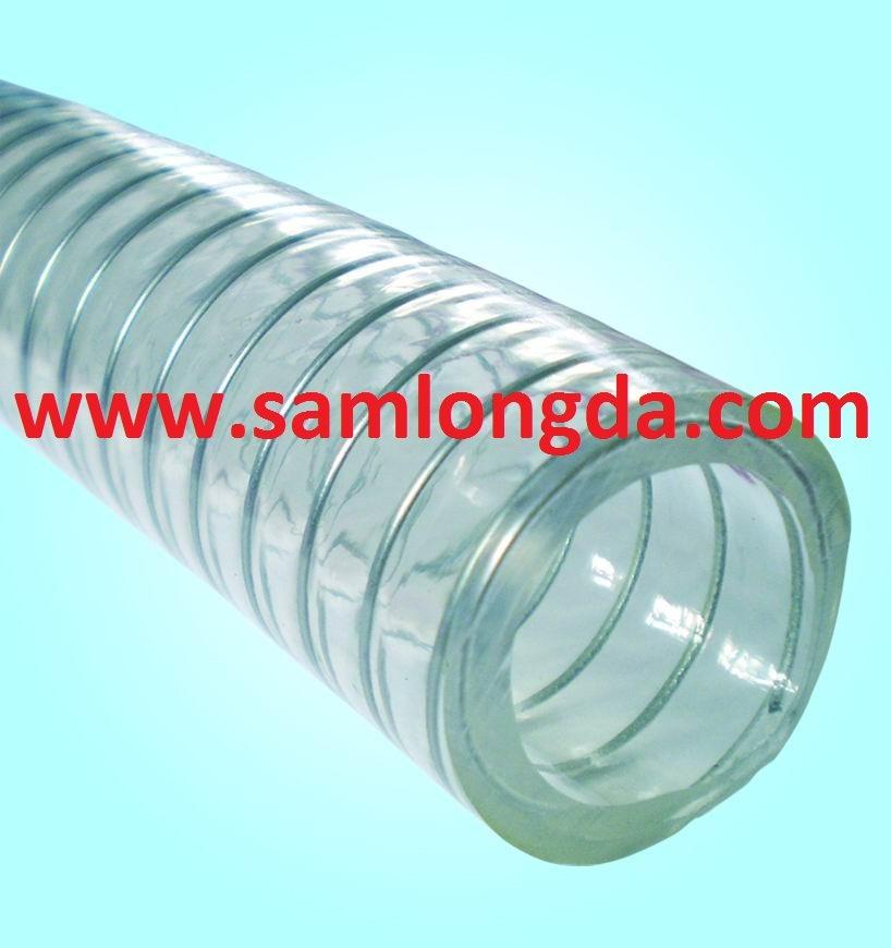 PVC Steel Wire Reinforced Hose (PVC5062)