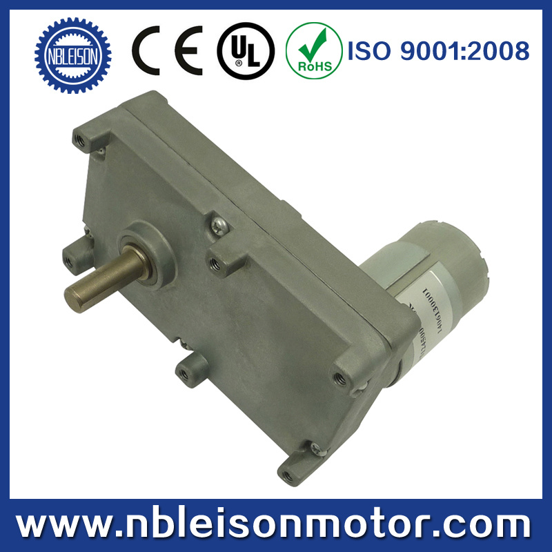 China 12v high torque electric motor with gear reduction for Reduction gearbox for electric motor