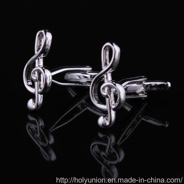 VAGULA Musical Gift French Gemelos Cuff Links (L28348)