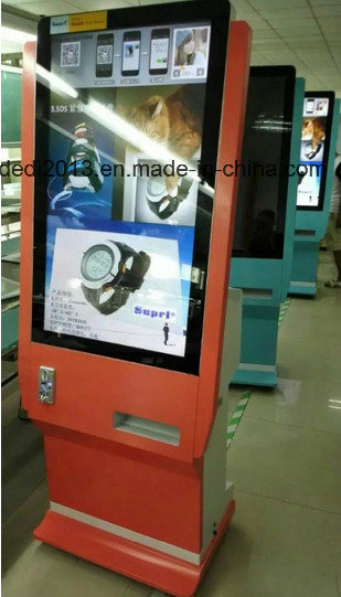 "42"" Photo Booth Coin-Operated Display Kiosk with Printer"