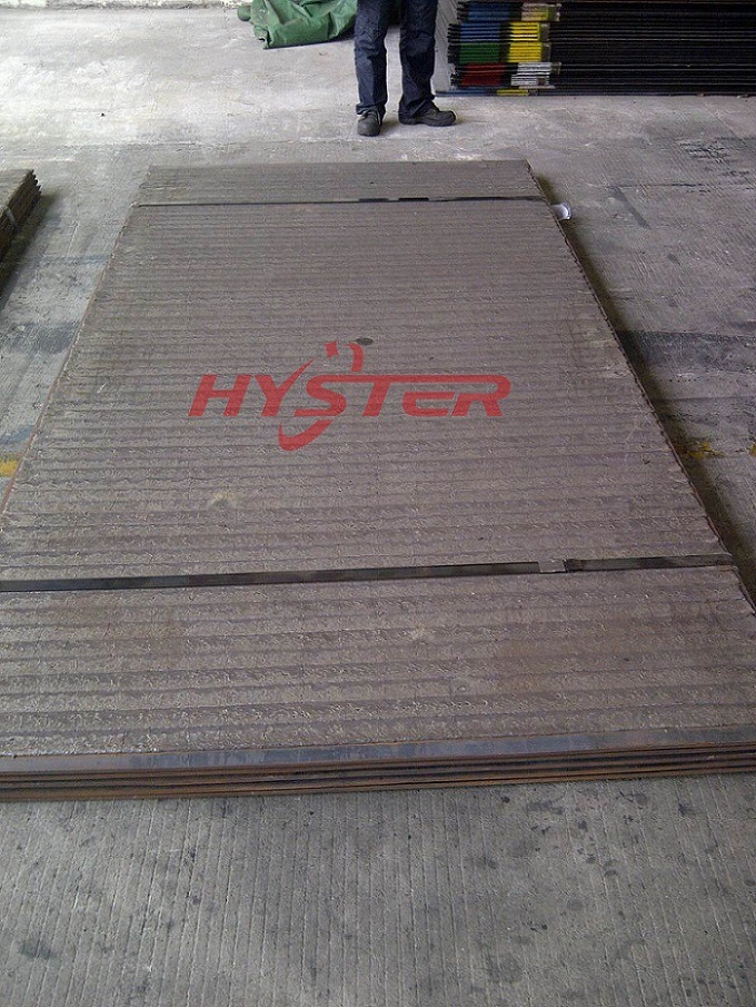 Chrome Carbide Clad Plate, Overlay Wear Plate Wear Liner 1500X3000mm
