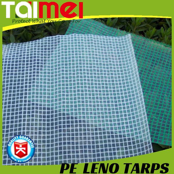 Highly Tear Resistant PE Leno Tarpaulin with UV Treated
