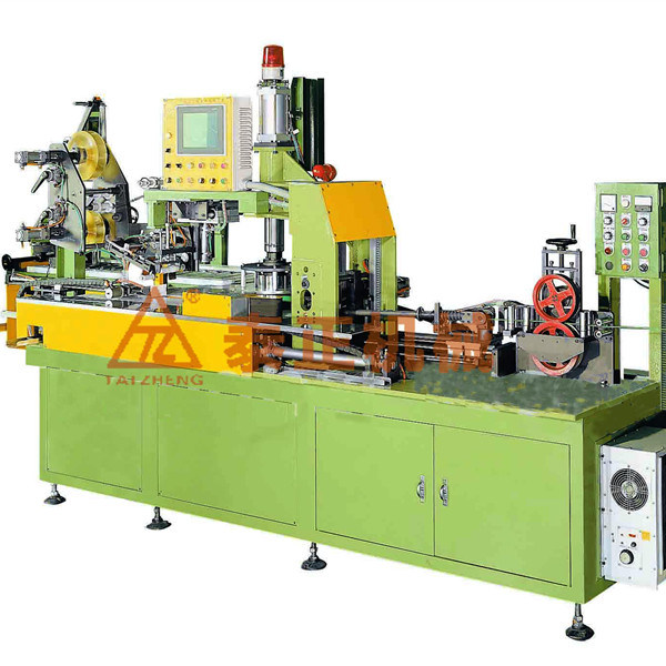 Cable Coiler Shrink Film Packing Machine