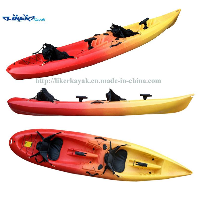 China double seater sit on top kayak fishing kayak lkg for Double fishing kayak