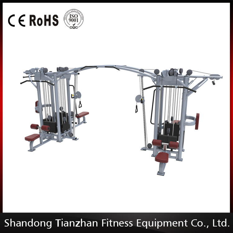 Cablecross with 8 Stack Multi-Function Gym Machine/Newly Designed 8 Stacks Mulit